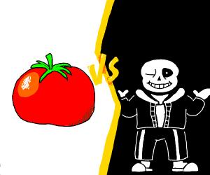 Tomato vs Sans