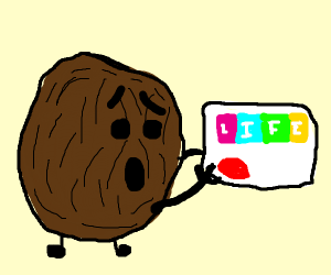 coconut gets a life