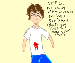 Step 4: The Ricocheed Bullet Hits You