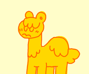 sad camel