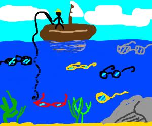 Fishing for Glasses