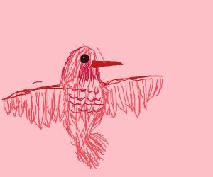 A Pink Hummingbird