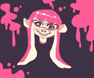 Mmm calamari.. I mean pink inkling yes yes