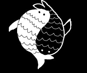 Koi Fish Ying Yang