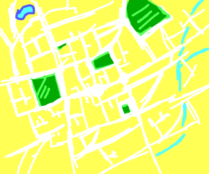 A map of a city