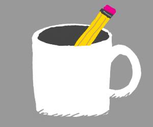 Pencil in mug