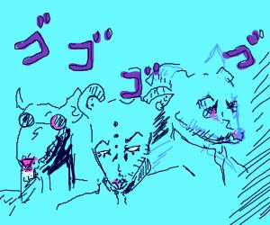 Three blind mice in jojo