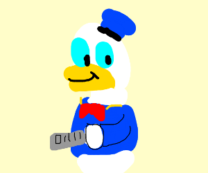Donald Duck: The Diligent Paperboy