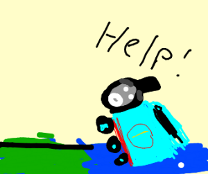 Thomas the Tank Sinking