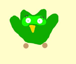 Duolingo is terrified