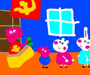 peppa is a communist
