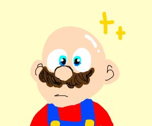 WHA?! Mario's Bald??