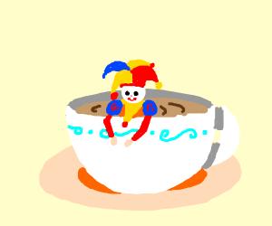 Joker in a Teacup