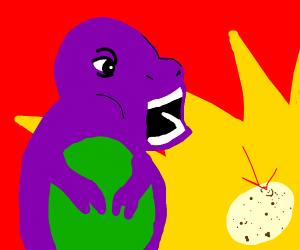 Barney's egg