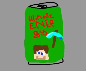 Minecraft energy drink