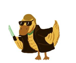 Badass duck
