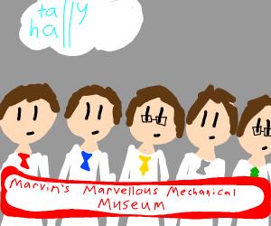 Marvin's Marvellous Mechanical Museum
