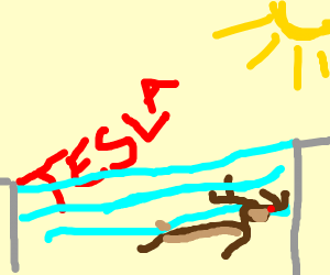 Rocket Scientist Swimming