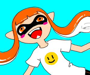 Inkling is happy