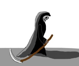 Depressed grim reaper