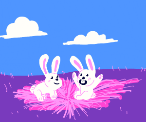 5/8 is my bday!! draw some bunnies for me :-)