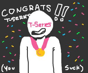congratulations t series