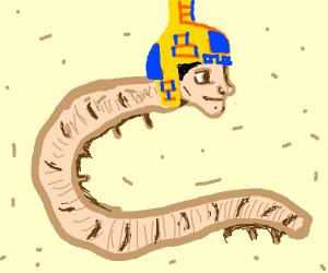 Egyptian human centipede