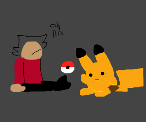 pokemon but pokemon catch the humans