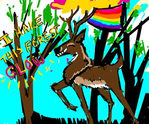Proud gay deer