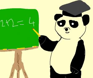 Panda professor