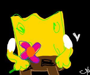 Spongebob mourns for Steven Hillenburg