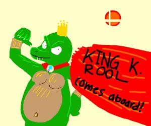 king k rool comes aboard! (smash bros)
