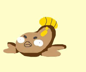Stunfisk looks pissed