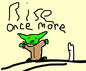 Yoda with evil power