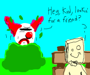 Goz The Clown out to make new friends