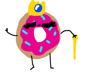 The Donut Queen has arrived