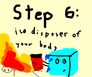 step 5: realize the ice was possessed