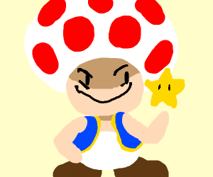 evil Toad from mario