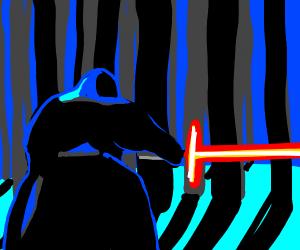 kylo ren in forest