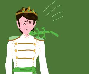 lizard kills nice prince