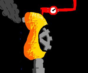 Mechanic yellow bean... thing
