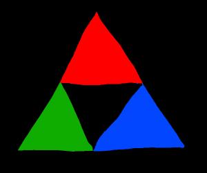 RGB but it's a triforce