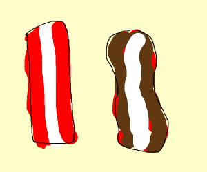 bacon stics