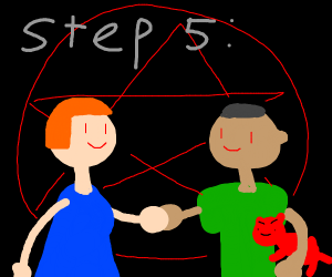 Step 4: Show your pet satan to your spouse