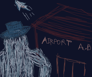 yeti missed his flight :(