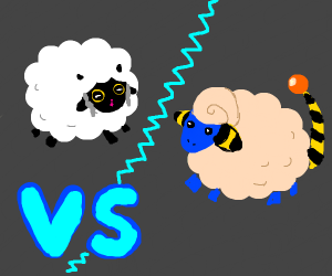 Wooloo vs Mareep