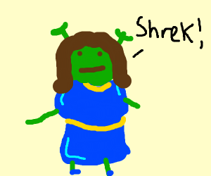 Fiona from shrek