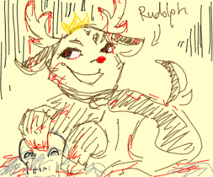 Rudolph the red nosed murderer