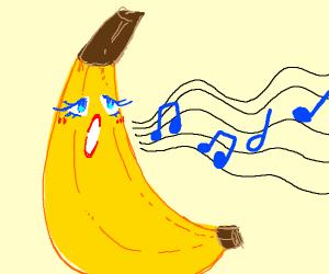 singing banana