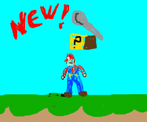 Marios new Power Up: A Spoon!